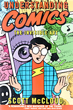 Understanding Comics book cover; Scott McCloud