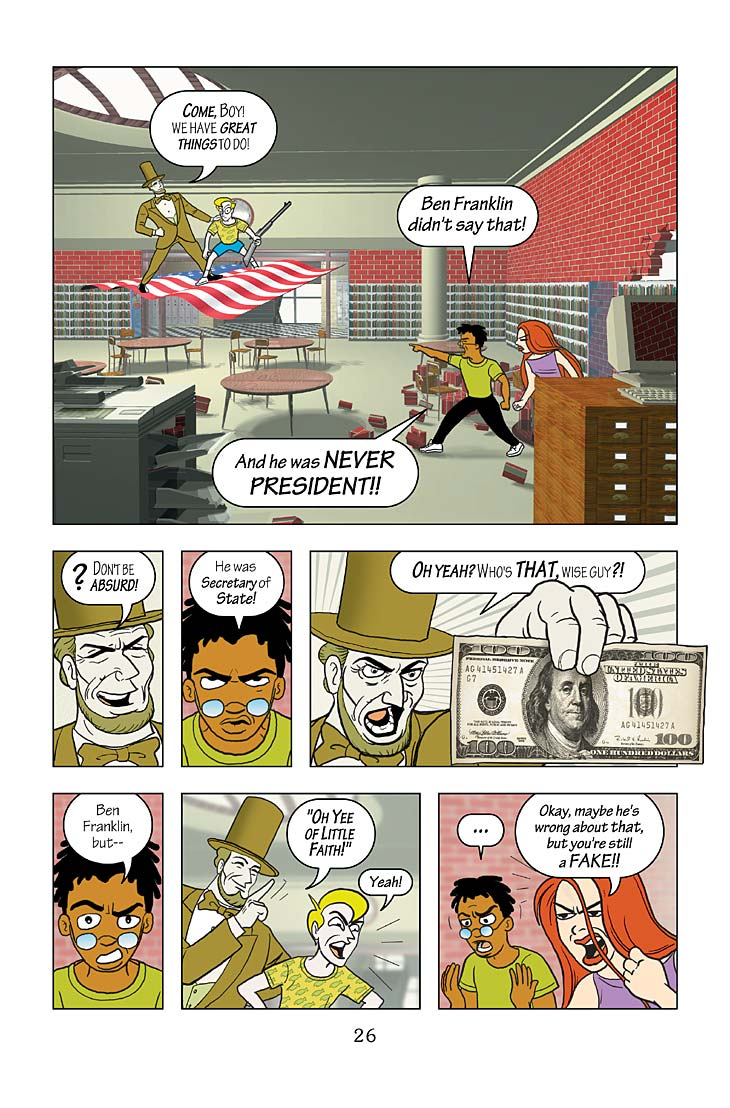 New Adventures Of Abraham Lincoln Excerpt Page 26