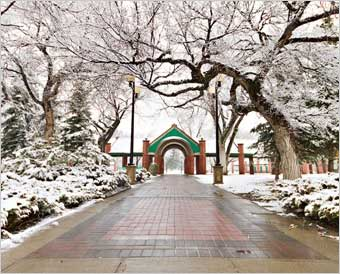 The Galt Gardens from the Lethbridge, Alberta homepage - www.lethbridge.ca